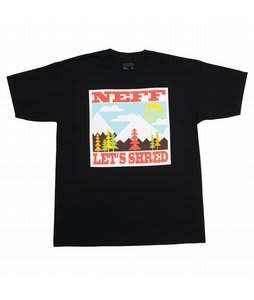 Neff Let's Shred T-Shirt Black