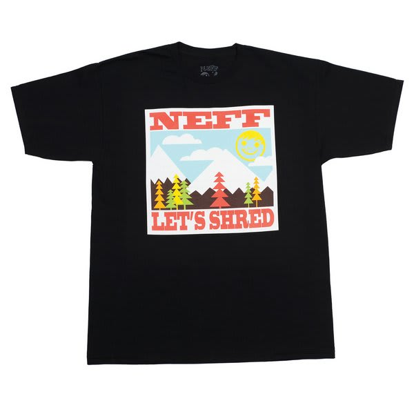 Neff Lets Shred T-Shirt