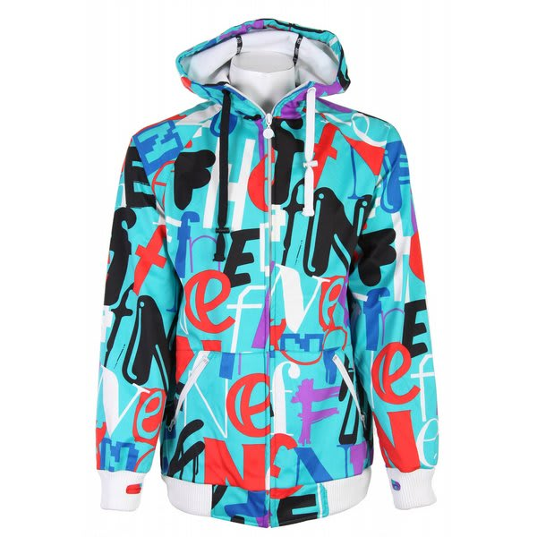 Neff Letterz Softshell Jacket