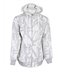 Neff Letterz Softshell Jacket White