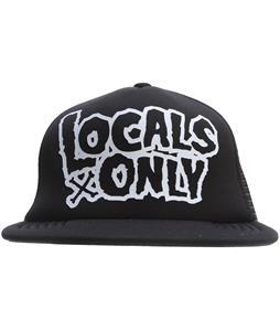 Neff Locals Only Cap Black