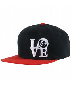 Neff Love Cap Black/Red