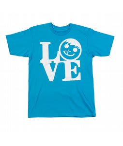 Neff Love T-Shirt Turquoise