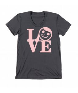 Neff Lovely T-Shirt Charcoal