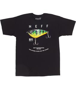 Neff Lures T-Shirt Black