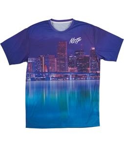 Neff Nightlife T-Shirt Purple