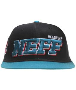 Neff Offsides Cap Black/Teal