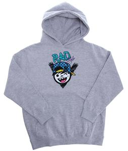 Neff Rad Style Hoodie Athletic Heather