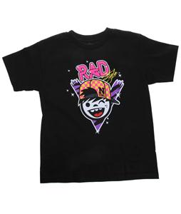 Neff Rad Style T-Shirt Black