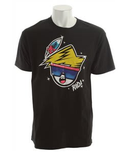 Neff Rad T-Shirt Black