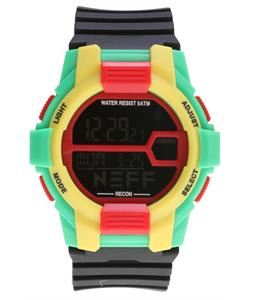 Neff Recon Watch Rasta