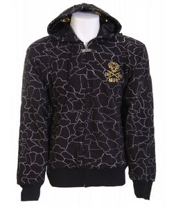 Neff Safari Full Zip Hoodie Black