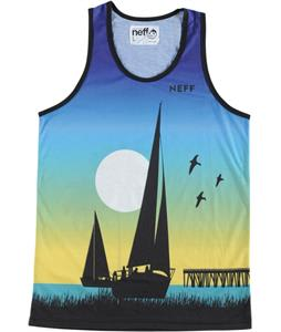 Neff Sailin Tank Blue