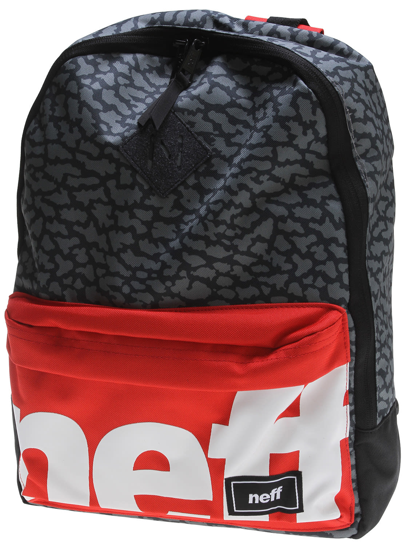 Neff Scholar Backpack Black/Red