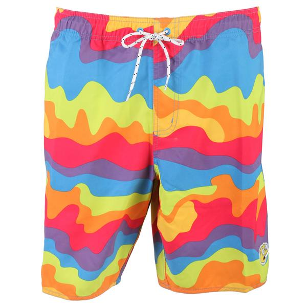 Neff Simpsons Whatever Hot Tub Boardshorts