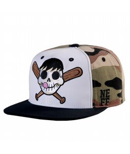 Neff Skeletal Cap Camo