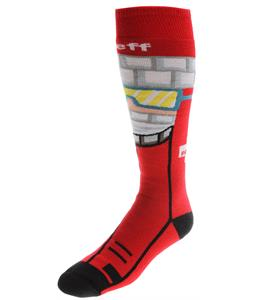 Neff Ski Patrol Snow Socks Red