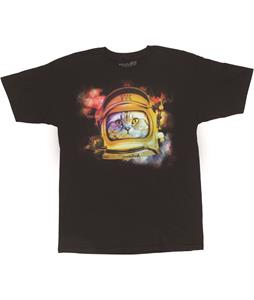 Neff Space Kitten T-Shirt Charcoal Heather