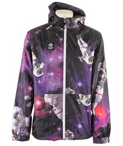 Neff Space Man Poncho Snowboard Jacket Space
