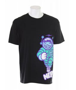 Neff Spaceman T-Shirt Black
