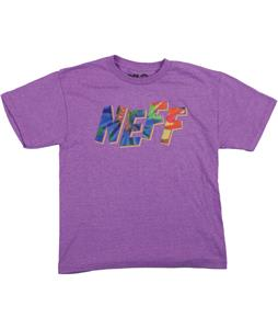 Neff Spiraldye T-Shirt Purple Heather