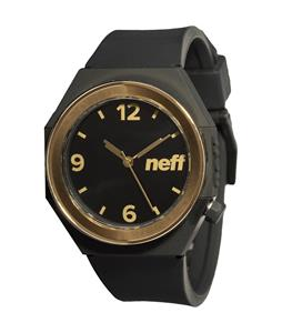 Neff Stripe Watch Black/Gold
