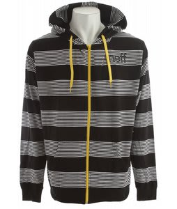 Neff Stripey Hoodie Black