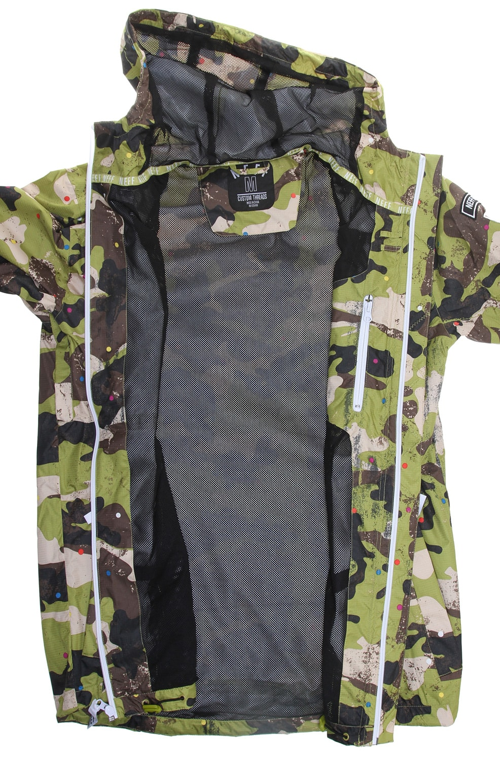 On Sale Neff Tactical Poncho Snowboard Jacket Up To 55 Off