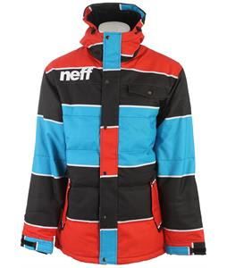 Neff Winston Snowboard Jacket Blue/Red