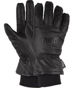 Neff Work Gloves Black