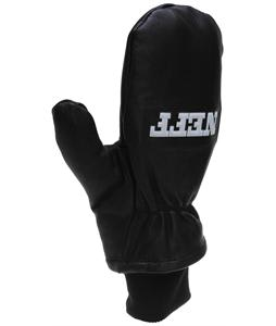 Neff Work Mittens Black