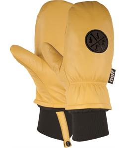 Neff Work Mittens Tan
