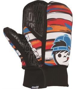 Neff Youth Undermitt Mittens Kenni Stripe