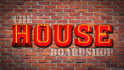 The House Neon Wallpaper