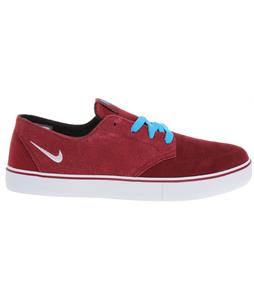 Nike Braata LR Skate Shoes Red/Light Current Blue/White