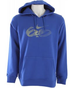 Nike Icon Logo Pullover Hoodie Varsity Royal