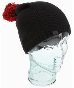 Nike Pom Pom Basic Beanie Black/Challenge Red