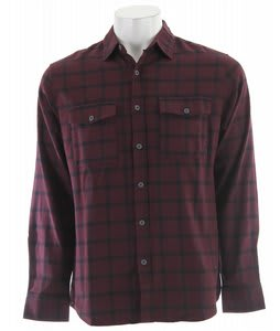 Nike Road Dog Flannel Shirt Deep Burgundy
