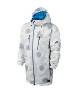 Nike 800 Aeroloft Kampai Print Snowboard Jacket Ivory/Lt Photo Blue/Dk Magnet Grey
