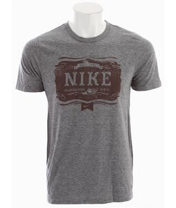 Nike Bar Tab Triblend T-Shirt Grey Heather