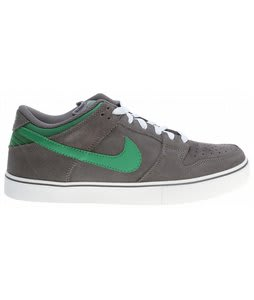 Nike Dunk Low LR Skate Shoes Dark Grey/White/Gum/Green