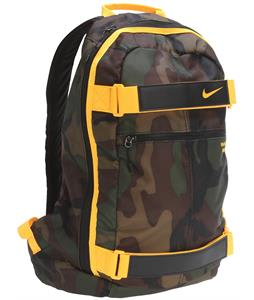 Nike Embarca Medium Backpack Black Forest/Black/Laser Orange