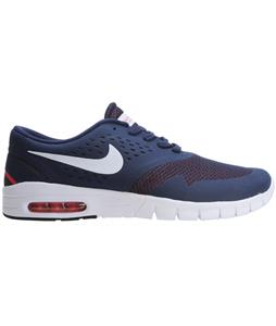 Nike Eric Koston 2 Max Skate Shoes Midnight Navy/Lt Crimson/White