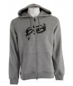 Nike Fiberglass FZ Hoodie Dark Grey Heather