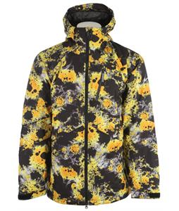 Nike Kampai 2.0 Print Snowboard Jacket Black/University Gold