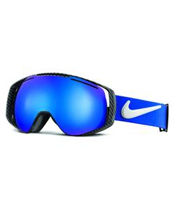 Nike Khyber Goggles Game Royal/Black/White/Dark Smoke Blue Ion And Yellow Red Ion Lens