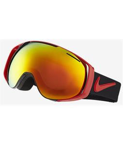 Nike Khyber Goggles University Red/Black/Red Ion And Yellow Red Ion Lens