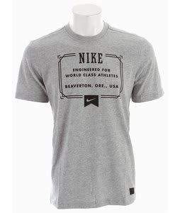 Nike Lock Up Dri-Fit T-Shirt Dark Grey Heather