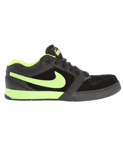 Nike Mogan Mid 3 Skate Shoes Black/Volt/Black