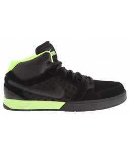 Nike Mogan 3 Skate Shoes Black/Black/Volt